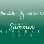 Save the date: Anse Summer University 2019 in Bolzano/Bozen, 26-30. August 2019