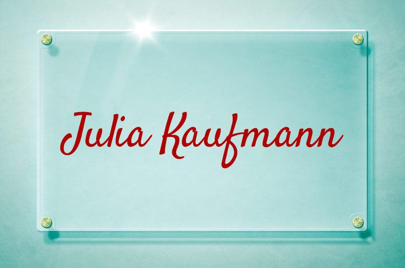 bsc Julia Kaufmann